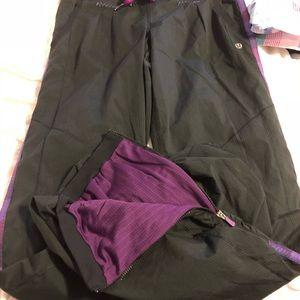Lululemon lined track pants, 6